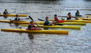 Lightnings - children's beginner's kayaks
