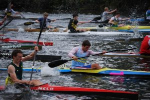 Sprint and marathon kayak racing